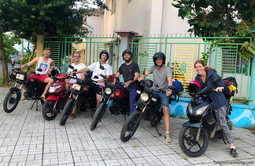 Traveling by motorcycle is a great experience in Saigon